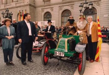 2000 Rally de Sitges, Plaza San Jaime