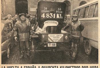 "1966 La Vuelta a España en un Ford ""T"""