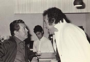 Simpatica charla entre Pablo Bravo y Joan Curto
