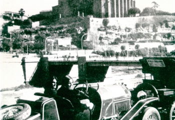 1968 Ana Mª Garcia, II Rally de coches de época, Circuito Cardoner - Urgellet