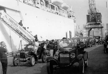 1967 embarcando a Mallorca en el  GP Internacional de ACV VI Copa de los Museos